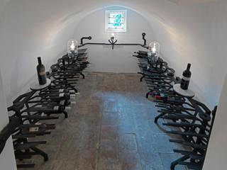 Vitis Vinifera wijnkelder:  Keuken door Kranen/Gille