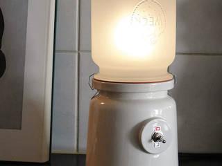 Meck lamp white:   door Kranen/Gille