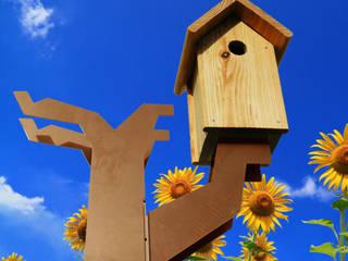Vogelboomhut:   door Maandag meubels, Scandinavisch