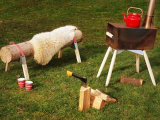 Houtkachel Hotdog:   door Maandag meubels