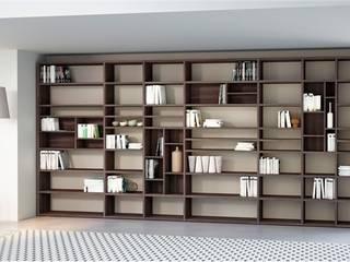 Libreria mod. Systema Open versione a parete:  in stile  di soloLibrerie