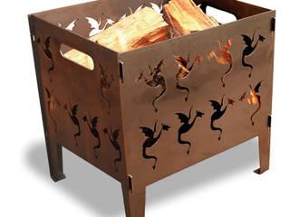 Draken vuurkorf Large:   door Maandag meubels