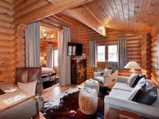 Hotel Lodge Ski & Spa Resort *****: Hoteles de estilo  de Estudio de arquitectura Jesús del Valle