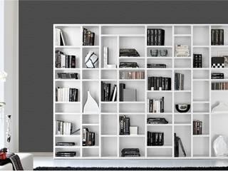 Libreria componibile mod. Easy a giorno:  in stile  di soloLibrerie