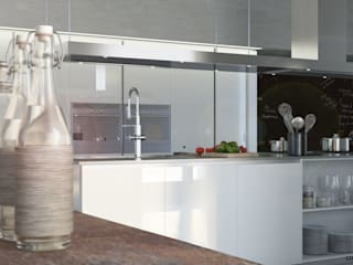 Spazio cucina e living Onlydesign Cucina moderna