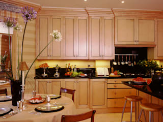 Biedermeier Kitchen designed and made by Tim Wood by Tim Wood Limited Classic