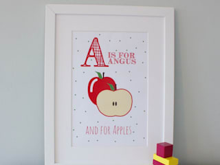 FRAMED PRINTS :: LITTLE BOYS di Hope & Rainbows Moderno