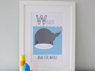 FRAMED PRINTS :: LITTLE BOYS Hope & Rainbows Stanza dei bambiniAccessori & Decorazioni