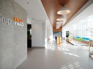 Restaurantes de estilo  por BG arquitetura | Projetos Comerciais, Moderno