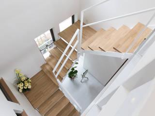 矢掛の家 オリジナルスタイルの 玄関&廊下&階段 の Design Labo LA Commu オリジナル