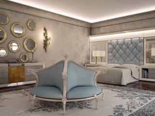 Sonmez Mobilya Avantgarde Boutique Modoko – Golden Yatak Odası / Özel: klasik tarz tarz Yatak Odası