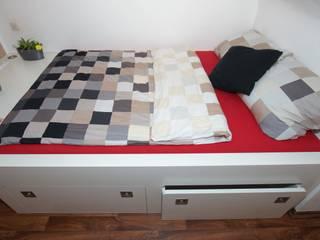 Nischen-Einbau-Bett:   von BL Möbelwerk