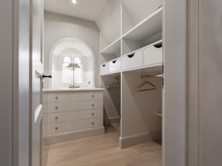 Home Staging Sylt GmbH Walk in closets de estilo rural