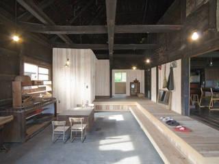 森の家 土間(after): 井上貴詞建築設計事務所が手掛けたです。