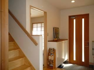 M House 和風の 玄関&廊下&階段 の 石井設計事務所/Ishii Design Office 和風