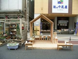 YAMAMORI 1: 井上貴詞建築設計事務所が手掛けた会議・展示施設です。