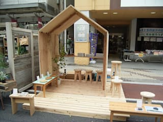 YAMAMORI 3: 井上貴詞建築設計事務所が手掛けたオフィススペース&店です。