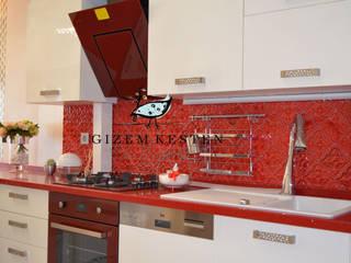 Cocinas modernas de Gizem Kesten Architecture / Mimarlik Moderno
