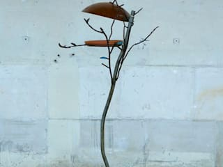Bird-Welness-Centre type tak:   door Rob van Acker - ijzerWERK