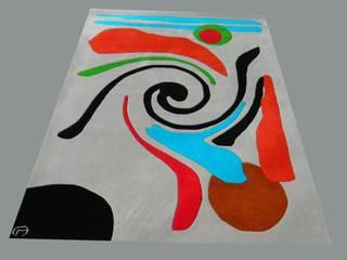 Tapis réalisé  à partir du tableau:  de style  par Tapisdesign