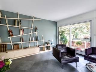 Moderne woonkamers van Atelier d'Ersu & Blanco Modern