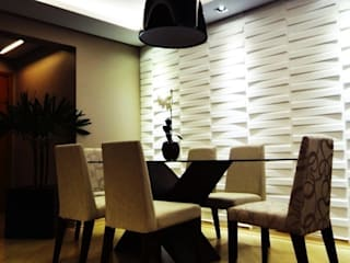 apartamento N+R Salas de jantar ecléticas por SPOT161 arquitetura + design Eclético
