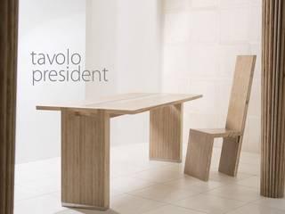 Tavolo President e Sedia Acca:  in stile  di Marzoarreda