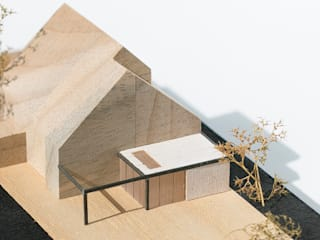 Maquette:   door Hoope Plevier Architecten