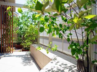 休日カフェをたのしむ家族の庭 2012~ にわいろSTYLE オリジナルな 庭