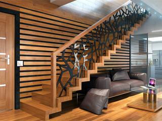 Schody dywanowe: styl , w kategorii Salon zaprojektowany przez Schodo System