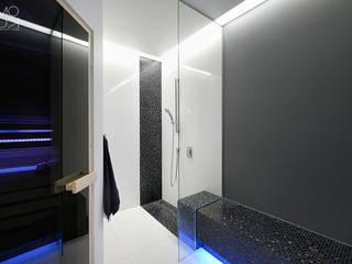 Domowe SPA: styl nowoczesne, w kategorii Spa zaprojektowany przez Pracownia projektowa artMOKO