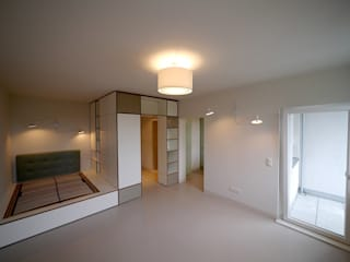 Apartment S van risk Moderne Schlafzimmer