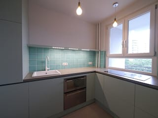 Apartment S van risk Moderne Küchen