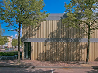 Westgevel:  Evenementenlocaties door Hoope Plevier Architecten