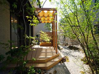 外へいざなうリゾートな庭 2014~ にわいろSTYLE オリジナルな 庭