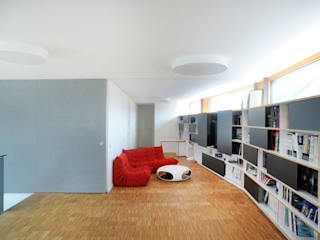 STEINMETZDEMEYER architectes urbanistes Modern style media rooms