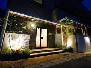 二つの入り口を着飾る庭 2014~ にわいろSTYLE オリジナルな 庭