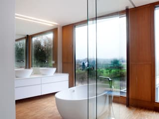 STEINMETZDEMEYER architectes urbanistes Modern style bathrooms