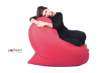 popheArt  beanbag:  in stile  di design Inmovimento