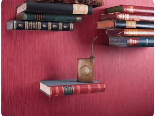 """""""Unsichtbares"""" Bücherregal:   von Schnipselmanufaktur"""