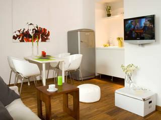 Studio : styl , w kategorii Salon zaprojektowany przez lehmanndesign