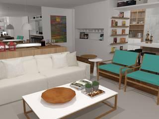 modern  by Carolina Mendonça Projetos de Arquitetura e Interiores LTDA, Modern