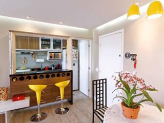 Minimalist Yemek Odası Raphael Civille Arquitetura Minimalist