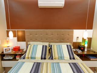 Schlafzimmer von Raphael Civille Arquitetura