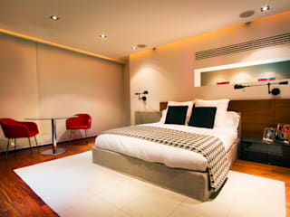 Dormitorios de estilo  de Concepto Taller de Arquitectura