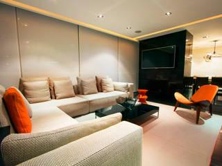 Départamento Vidalta: Salas de estilo  por Concepto Taller de Arquitectura