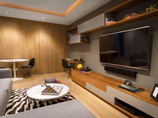 Departamento DG: Salas multimedia de estilo  por Concepto Taller de Arquitectura