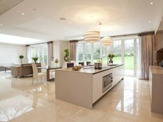 Park House, Kitchen di Pygmalion Interiors Moderno