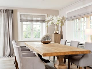 SALLIER WOHNEN SYLT Country style dining room