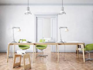 Office Mood: Studio in stile in stile Moderno di Virgo Design